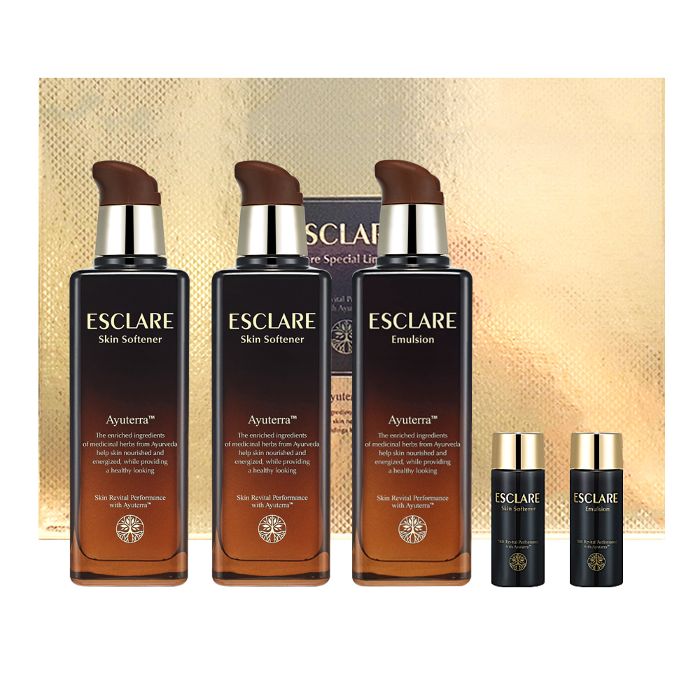 ENPRANI Esclare Skin Care Special Limited Set (5 items)