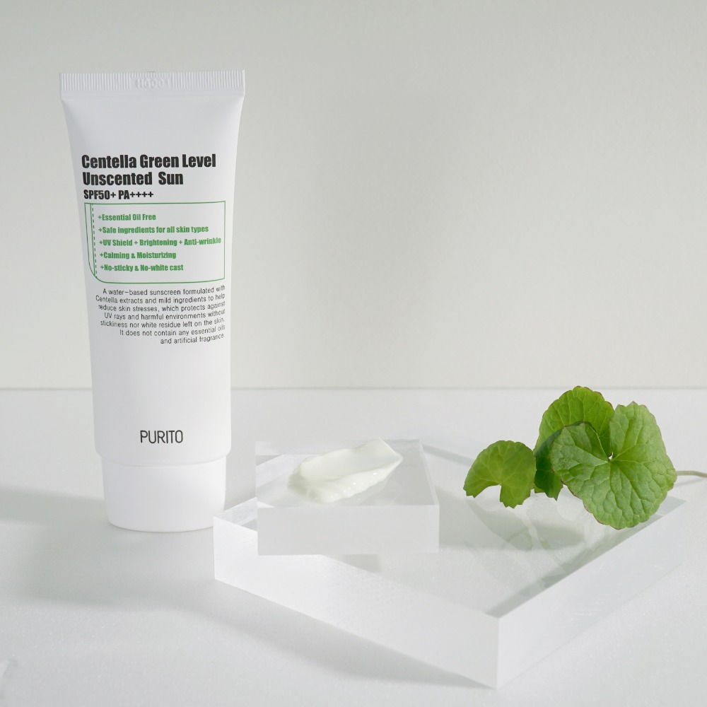 PURITO Centella Green Level Unscented Sun 60ml SPF50+ PA++++
