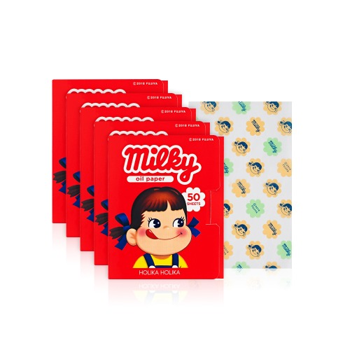 [HOT DEAL]Holika Holika Sweet Peko Oil paper 50sheets * 5pcs